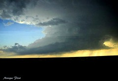 Building Storm (moniquef123) Tags: sky storm oklahoma nature weather clouds landscape ominous thunderstorm weatherphotography therebeastormabrewin