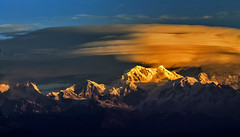 Sleeping Buddha......!! (sandy_photo) Tags: india mountains nature sunrise canon landscape bengal himalayas highaltitude westbengal mountainscape sandakphu sleepingbuddha himalayanrange sunsetandsunrise incredibleindia tonglu easternhimalayas beautifulbengal eos1100d sandipsarkarphotography