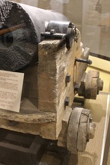 Original Wooden Naval Gun Carriage (Piedmont Fossil) Tags: park museum mississippi carriage military cairo civilwar shipwreck national cannon artillery naval uss vicksburg relic recovered