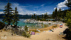The beach perspective (Aaron_Smith_Wolfe_Photography) Tags: beach water nevada laketahoe sierra moutains sandharbor