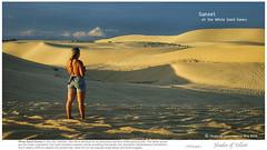 Shades of Sand Dunes @ Sunset (rusamesame) Tags: sunset lines sunshine landscape sand shadows dune vietnam sanddune