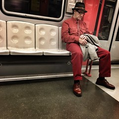The Man in Red (Sergio_MI) Tags: street red portrait people urban man look fashion