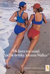 Johnnie Walker 1988 (moogirl2) Tags: 1988 80s yuppies johnniewalker spymagazine vintageads 80sfashion 80sculture vintageliquorads 80slifestyle 80syuppies