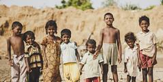 Brick Kiln Stories (anandgovindan) Tags: street travel portrait people india kids canon children happy 50mm kid child happiness curious groupphoto f18 chennai curiosity tamilnadu southindia 50mmf18 cwc childwood nemam thiruvallur tiruvallur canon600d chennaiweekendclickers anandgoviphotography anandgovindan cwc524