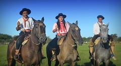 Tres muy 'de a caballo' (Eduardo Amorim) Tags: horses horse southamerica argentina criollo caballo cheval caballos cavalos corrientes pferde cavalli cavallo cavalo gauchos pferd chevaux gaucho cavall amricadosul gacho amriquedusud  gachos  sudamrica suramrica amricadelsur sdamerika crioulo caballoscriollos criollos jineteada  americadelsud gineteada crioulos cavalocrioulo americameridionale caballocriollo eduardoamorim cavaloscrioulos curuzcuati provinciadecorrientes corrientesprovince cavall