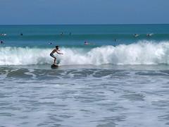 Surfing @ Kuta Beach (stardex) Tags: kutabeach kuta surfing wave sea beach bali indonesia