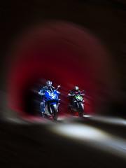 EjemploLightMotos2 (Suso Sinmiedo) Tags: blue lightpainting verde green azul alicante motorbike moto tunel agost pilito vaverdedelmaigm