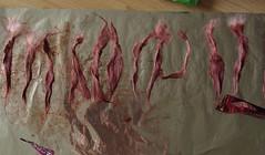 Dye Alpaca - First Try (weissesblattpapier) Tags: colour alpaca hair fur doll semi dye permanent