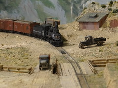 Cheyenne Railroad Museum Model Railroad (kevonzone) Tags: lake snow rain forest train frozen waterfall pond buffalo nikon bears yellowstone wyoming geyser bison mountians d3300
