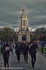 Trinity College 2 (bertu89) Tags: dublin students landscape photography photo nikon trinitycollege irland paesaggio dublino irlanda 18105 studenti 2015 filtri d5000 bertu89