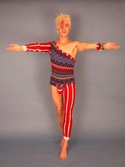 David Bowie catsuit (01-01-1990) Tags: david bowie catsuit seventies geert dekkers theo van gorp model white athletic sophisitcated pop star singer rock n roll music scene retro