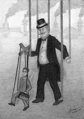 Marionette (mmoneib) Tags: money control political politics deception social master illusion pollution worker capitalism manager economy employee socialism capitalist slave corruption dystopia hierarchy inequality anticapitalism soceity