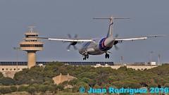 EC-MKE - Swiftair - ATR 72-500 (72-212A) (Juan Rodriguez - PMI/LEPA) Tags: plane airplane nikon aircraft sigma mallorca palma aeropuerto avion 80400mm atr aireuropa d90 aeroplano aeronave atr72500 swiftair sonsanjuan sonsantjoan ecmke pmilepa