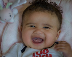 Donia and Aziz-6 (lilnjn) Tags: family people 4months aziz