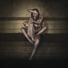holding on to broken pieces (brookeshaden) Tags: abandoned skin surrealism derelict fineartphotography darkart conceptualphotography brookeshaden holdingontobrokenpieces