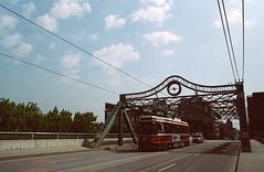 This River I Step In (Georgie_grrl) Tags: street bridge toronto ontario ttc pentaxk1000 streetcar outing queenstreeteast rikenon12828mm springshootingshenanigans