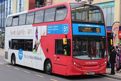 National Express West Midlands Alexander Dennis Enviro400 4863 (BX61 LLF) (Walsall) 'Fay' (john-s-91) Tags: birmingham route51 4863 alexanderdennisenviro400 nationalexpresswestmidlands bx61llf absolutelyfabulousthemovie