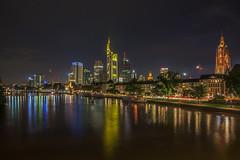Frankfurt Skyline by Night (hbecker1411) Tags: frankfurtmain skyline nightshot nachtaufnahme