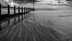 20150918-Dawlish Groynes (msphoto68) Tags: longexposure sea fall beach water clouds landscape rocks whitewater waves seascapes coastal devon d750 filters beachhuts dawlish sigma1020mm southdevon leebigstopper nikond750 hightechformatfilters lefilters09