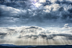 """""""Let Your Light Rain Down"""" (travelphotographer2003) Tags: sky usa cloud sunlight mountain landscape spring outdoor westvirginia rays relaxation exploration idyllic appalachia freshness appalachianmountains purity tranquilscene alleghenymountains beautyinnature route150 pocahontascounty nationalscenicbyway highlandscenichighway"""