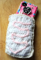 Glam Up Your Cell Phone Cover & Make A Pop-Tart Cozy! (Suzie the Foodie http://suziethefoodie.blogspot.co) Tags: make up cozy phone cell your cover glam poptart a