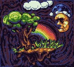 Spooky Serene Floating Rock Island With A Tree And Rainbow Plus Sleepy Mr. Moon And Clouds In The Void   PIXEL ART (SuperLushFeverDream) Tags: pink moon color tree art nature strange night clouds composition digital island sketch rainbow artwork colorful drawing sleep avatar acid digitalart surreal floating sprite calm retro lsd spooky odd sleepy doodle nighttime pixel pixelart computerart serene 8bit unreal void trippy psychedelic floyd tablet shrooms avy lowres palette spook 16bit darksideofthemoon videogameart retroart dsotm spriting pixeljoint
