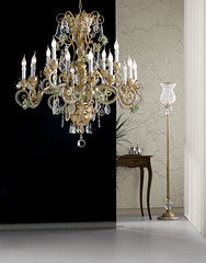 il lampadario (studiofava) Tags: lampadario cristalli