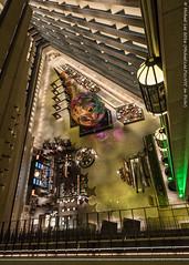 Hyatt Regency Embarcadero (DSC03443-Edit) (Michael.Lee.Pics.NYC) Tags: sanfrancisco architecture hotel sony lobby lookingdown elevators atrium elevatedview hyattregencyembarcadero a7rm2 zeissloxia21mmf28
