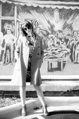 Design Archive - Ashley (mattbellphoto) Tags: blackandwhite bw film 35mm rodinal nikonf2 winstonsalem 85mmf14 polypanf designarchive ashleylandreth