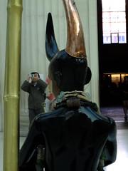 Ignoring the Lost Soul (failing_angel) Tags: carnival london masks bloomsbury trinidad britishmuseum greatcourt stilts nottinghillcarnival lostsoul africandiaspora transatlanticslavetrade mokojumbie celebratingafrica zakov 310715 guardianofvillages