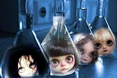 Blythe A Day June 15 2016  Weird Science (A Little Fairy Magic/Leezapea1) Tags: picmonkey blytheaday2016 weirdscience sweet crate custom shepuppycustom siripornrobertsoncustom