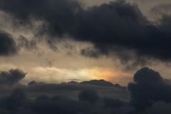 Sunset Sun Dog (Sculptor Lil) Tags: sky london weather clouds sundog atmosphericoptics canon700d dslrsingleexposure