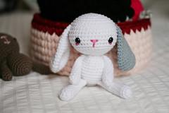 Bunny  (Slya Cabret) Tags: cute rabbit bunny soft handmade conejo crochet adorable amigurumi peluche conejito croch ganchillo hechoamano hakeln