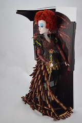 Iracebeth The Red Queen Limited Edition 17'' Doll - Alice Through the Looking Glass - Disney Store Purchase - Deboxing - Covers Removed - Full Right Front View (drj1828) Tags: iracebeth alicethroughthelookingglass limitededition us disneystore doll 17inch purchase liveactionfilm theredqueen deboxing