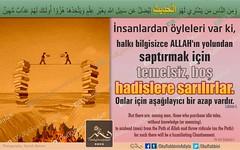 Kerim Kur'an - Lokman 6. (Oku Rabbinin Adiyla) Tags: god muslim islam religion bible allah verse holyquran holybible holybook oku kuran ayet