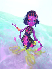 great scarier reef // Kala Mer'ri #2 (BlahBlair) Tags: ocean sea doll dolls octopus mermaid mh mattel kraken ghouls dollphotography monsterhigh monsterhighdoll greatscarrierreef kalamerri