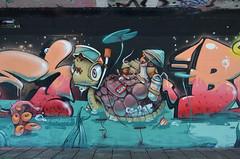 """Graffiti Turtle"" graffiti mural in Eindhoven (Ben den Hartog) Tags: urban holland art netherlands graffiti mural nederland murals eindhoven urbanart beat boogie hombre erase muurschildering berenkuil straatkunst graffitimural arsek"