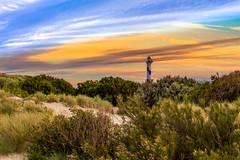 Oosterstaketsel  19 juni 2016 -056 (Frederic_P.) Tags: sunset sky lighthouse landscape zonsondergang oostende phare vuurtoren leuchtturm landschap langenelle
