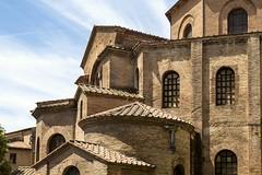 Symphony in Brick (John Maloney FSA Scot) Tags: italy brick church architecture europe unesco romanesque ravenna