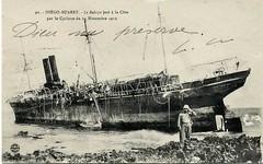 1912.11. SALAZIE chou sur Nosy Ankomba Madagascar 2 (MIKOS-35) Tags: les paquebots postes des messageries avaient une livre blanche lorsquils taient sur la ligne dextrmeorient sagon japon et coque noire autres lignes