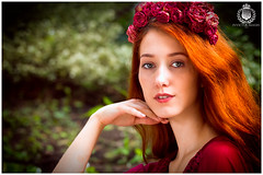 FP__20160619-IMG_3477 (royston_f01) Tags: flowers trees portrait nature gardens forest woodland outdoor naturallight redhead fairy greenery nymph daria whimsical luxuriant demure fanciful tahereh redheadmodel