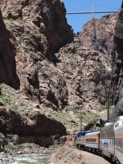 Royal Gorge Railroad (kevonzone) Tags: lake snow rain forest train frozen waterfall pond buffalo nikon bears yellowstone wyoming geyser bison mountians d3300
