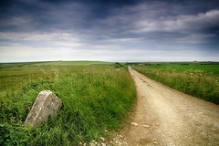 Track to St Aldhelm's Head (OutdoorMonkey) Tags: road nature field rural way outside countryside track outdoor path chapel route dorset stalbans staldhelms worthmatravers