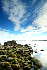 Reefs and sea (Mario Ottaviani Photography) Tags: sea italy seascape clouds canon italia nuvole mare stones cloudscape reefs scogli gabicce sonyalpha a7rii a7rmkii a7r2