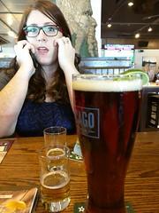 Jen (DrewsTheOne) Tags: beer restaurant friend jen conversation stark prettygirl babos rockfordillinois jenstark jenbabos