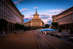 National Assembly Bulgaria (sfabisuk) Tags: sunset colors beautiful cityscape sofia bulgaria national stunning assembly