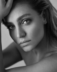 Bahare (Babak Fatholahi) Tags: portrait bw girl beautiful beauty canon model pretty retouch retouching 5dmarkiii babakfatholahi