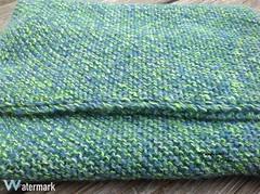 Corner to Corner Garter Stitch Blanket: Finished (Thunderella05) Tags: summer spring rainbow bright crochet blanket boutique shawl multi