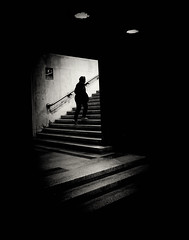 (Stevenchen912) Tags: shadow bw composition contrast blackwhite candid streetportrait streetscene streetphoto depth decisivemoment citystreet streetphotographer