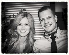 Amber & Bryan (Oliver Leveritt) Tags: blackandwhite monochrome nikond610 afsnikkor2470mmf28ged oliverleverittphotography portrait couple prettywoman man smile smiles blonde
